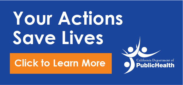 Your Actions Save Lives. Click to Learn More