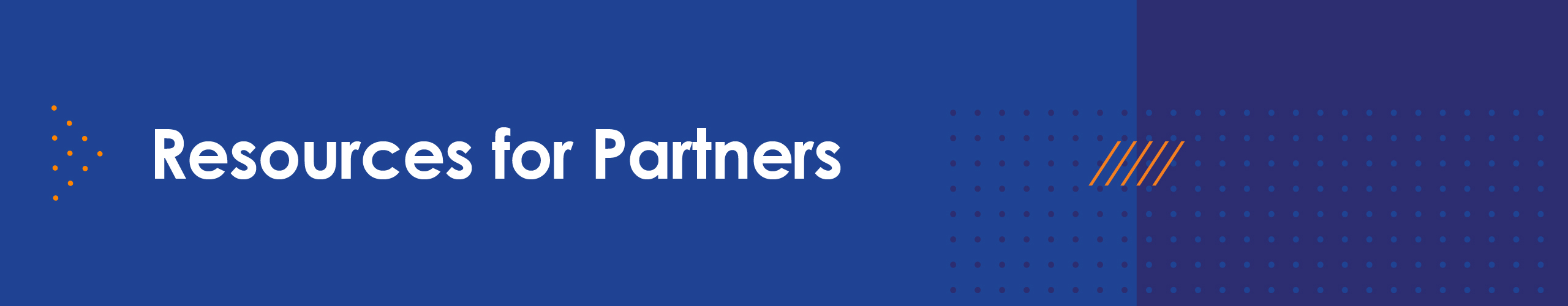 Resource for partners
