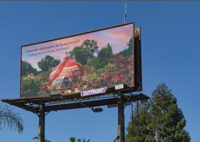Latinx Community Billboard.