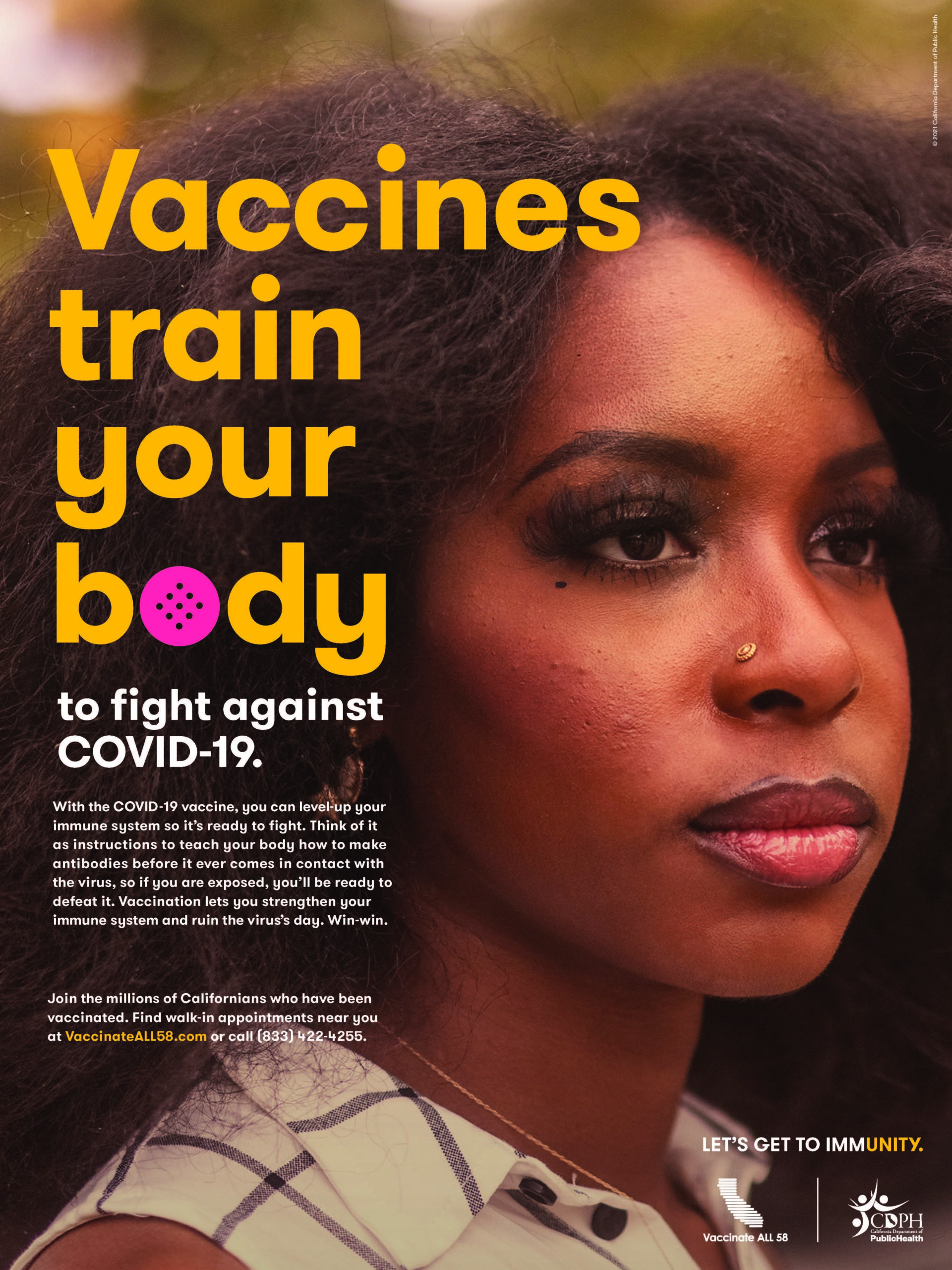 Vaccines train your body