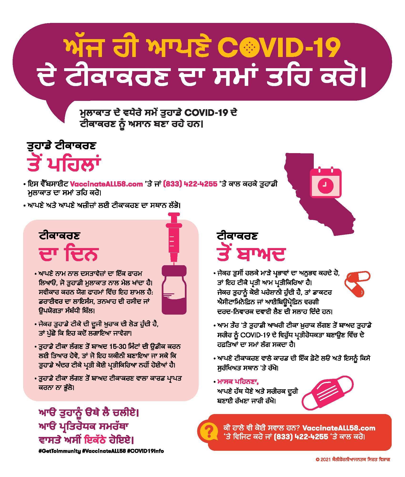Infographic Punjabi PDF
