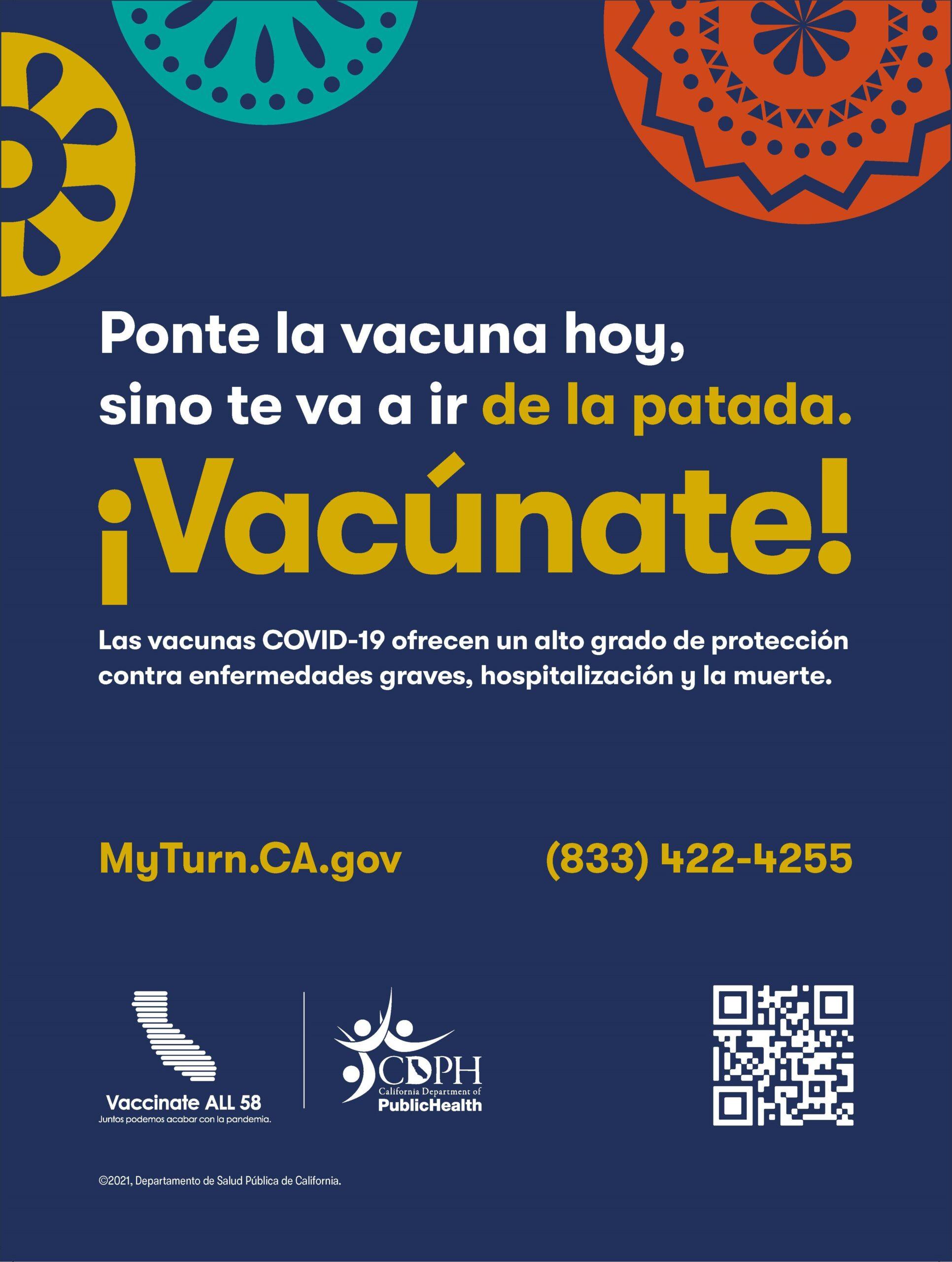 Ponte Vacuna Poster